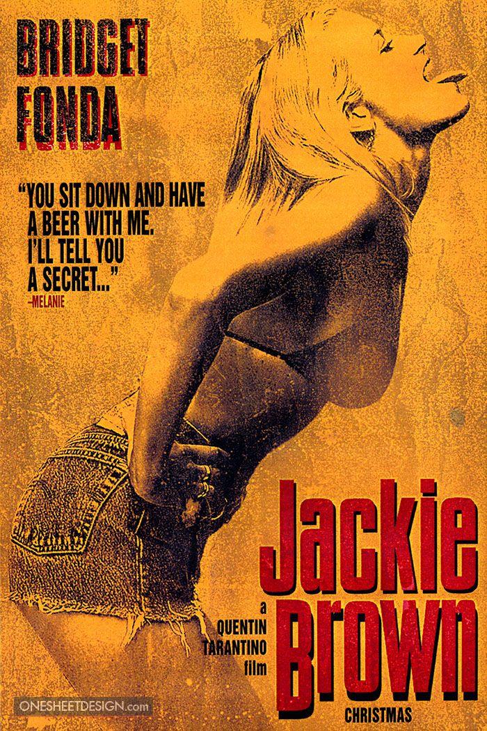 Jackie Brown Movie Poster Design - Portfolio -3228