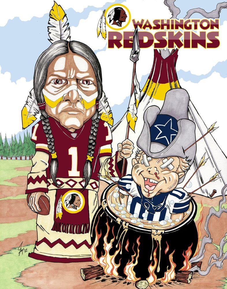 Redskins vs. Cowboys Washington redskins football