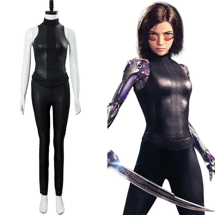 Adult Kids Alita Novelty & Special Use Costumes & Accessories Battle Angel Cosplay Costume Zentai Bodysuit Suit Jumpsuits Alita Carnival Halloween Costumes For Women Girls Buy One Give One
