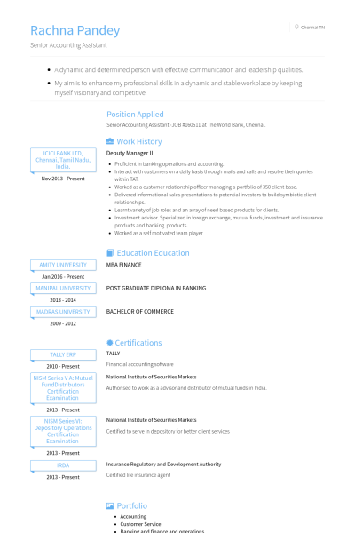 Good Communication Skills Resume Resume Format For Tally Erp 9  Pinterest  Resume Format