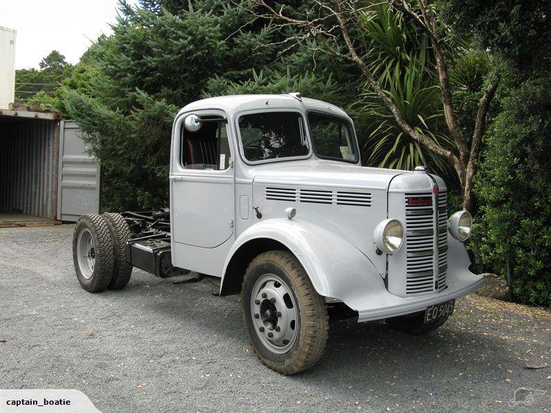Bedford K Model 1951 Trade Me Bedford truck, Custom
