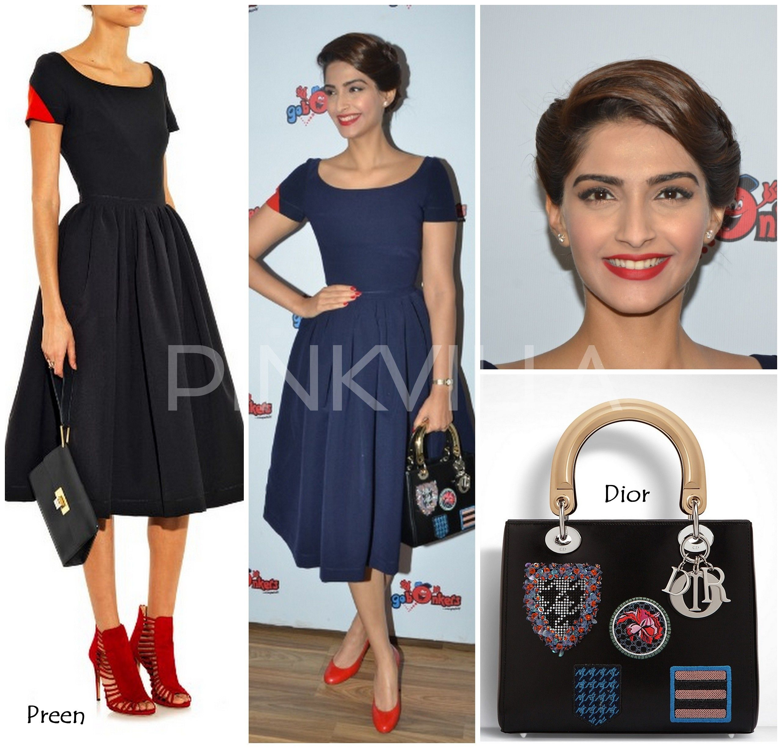 Yay or nay sonam kapoor in preen and dior celeb trends