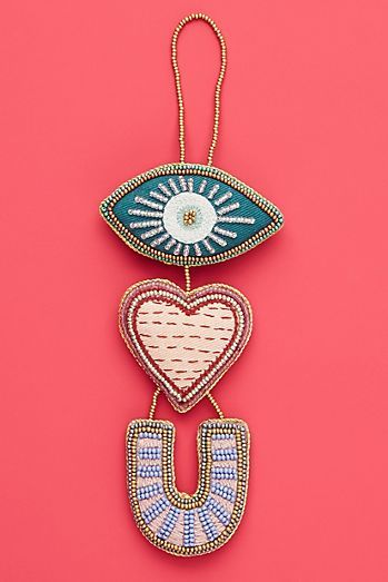 Eye Heart You Ornament (With images) | Anthropologie ...