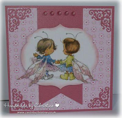 LOTV - Fairies Art Pad. Card by Christine Levision