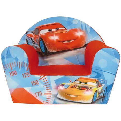 Fauteuil Club Cars Disney Ice Racing