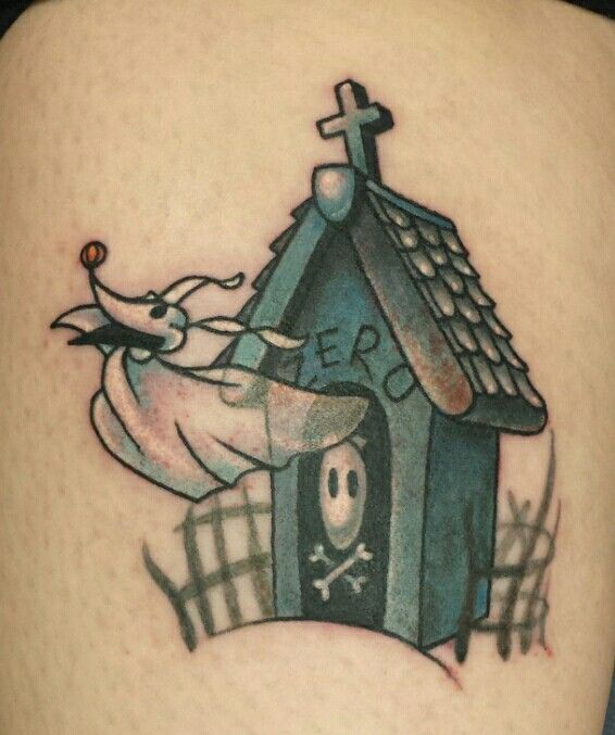 Zero Dog House Tattoo Home Tattoo Tattoos Triangle Tattoo