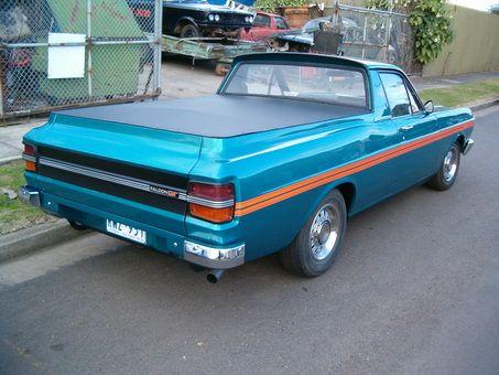 Ford Falcon Xy Ute Australian Muscle Cars Vintage Muscle Cars Aussie Muscle Cars
