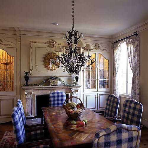 Country French Dining Room By Leo Dowell Designs Does Total Concept