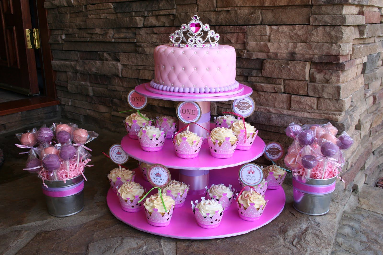 1st birthday girl princess ideas cake cakes by narleen kristel a