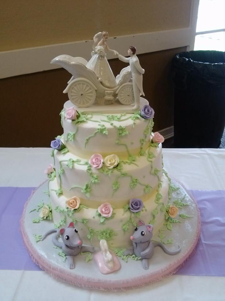 Cinderella Wedding Cake Fairy Tale Elegance By Js Pastry Shop In Pensacola
