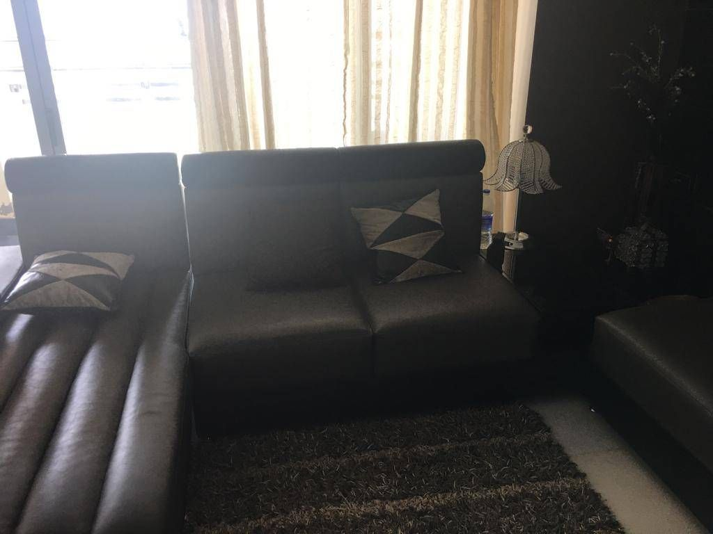 Sofa Set Offers In Mumbai Sofa Set Black And Grey Leather Buynuse Grey Leather Black