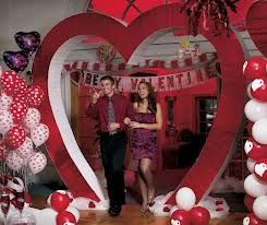 Theme Party Valentine S Day Valentines Theme Party Valentines Party Decor Valentine Theme