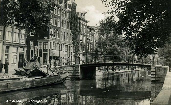 Amsterdam Jordaan En Omgeving Amsterdam Oude Fotografie Oude