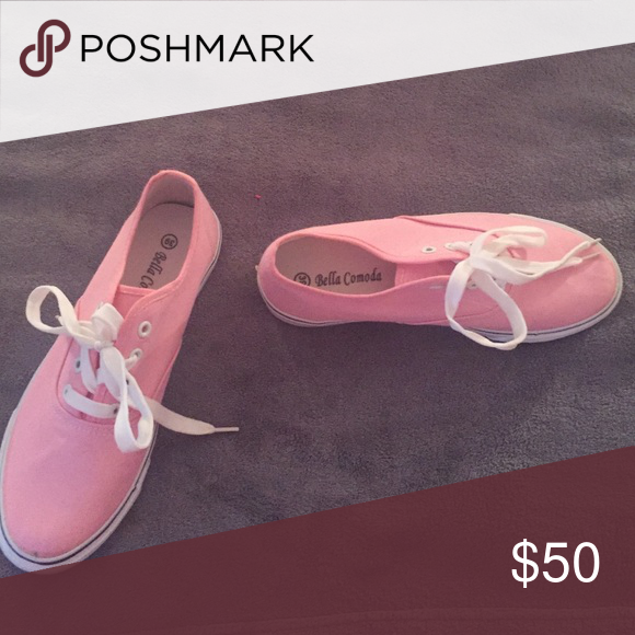 7e05622c2f5d Shoes That Look Like Vans! Pink shoes  ) Bella Comoda Shoes Sneakers ...