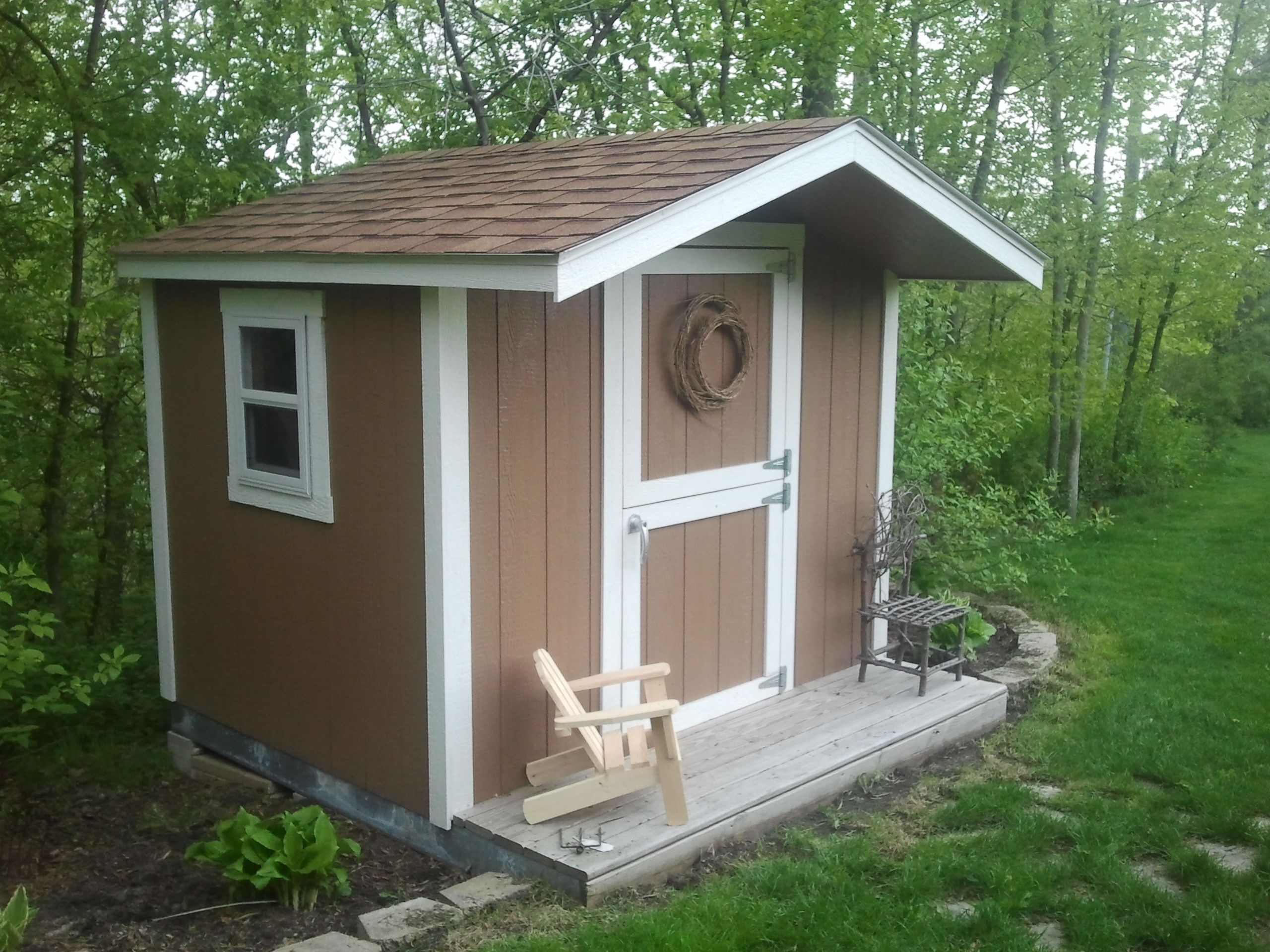 Tuff shed playhouse ordered at home depot tuff shed at for Tuff shed dog house