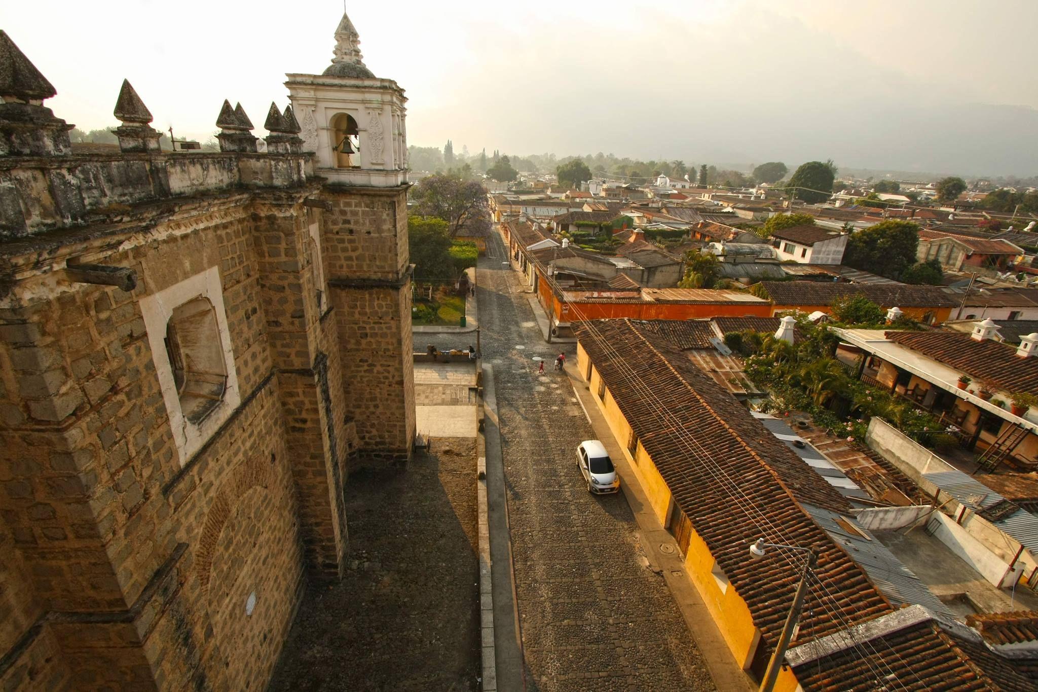 Barrio de la Escuela de Cristo, Antigua Guatemala