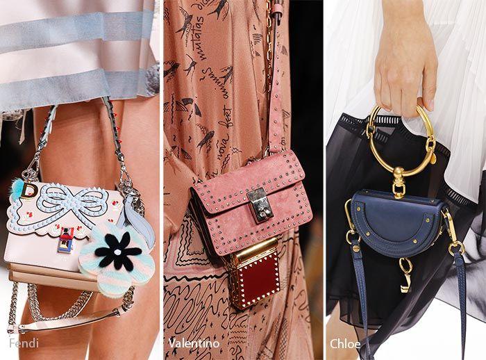 Spring Summer 2017 Handbag Trends Tiny Bags Purses