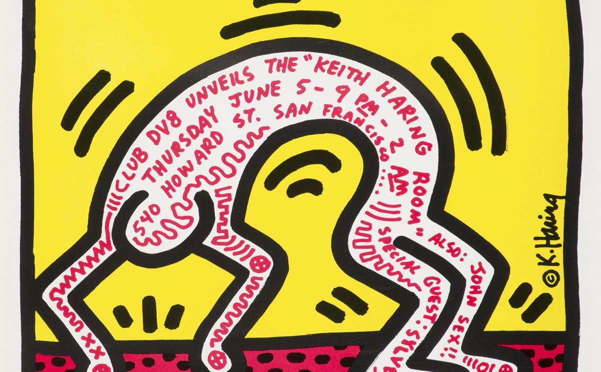 キース ヘリング生誕60年記念特別展がスタート キース ヘリング アートデザイン キース