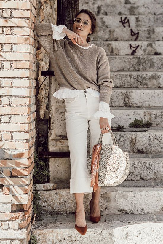 Your Guide To Wearing Neutral Colors This Spring | Women's ...