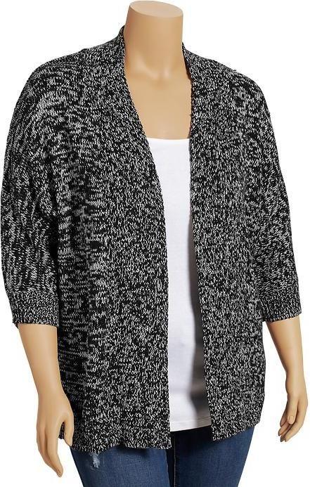 Old Navy Women's Plus Marled Dolman-Sleeve Cardis on shopstyle.com