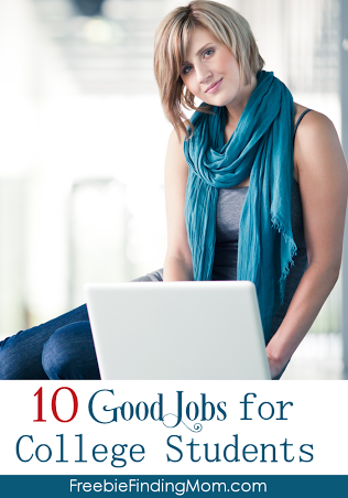 10 Good Jobs For College Students College Students College College Job
