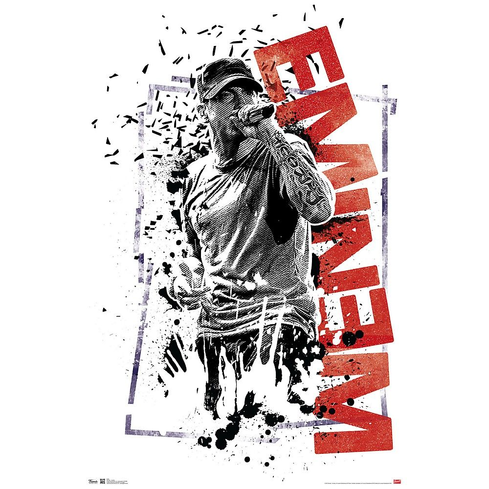 Trends International Eminem Crumble Poster in 2020