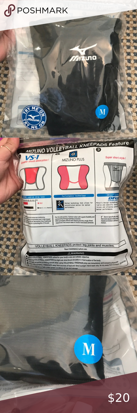Mizuno Lr6 Volleyball Kneepads New In 2020 Original Bags Mizuno Volleyball
