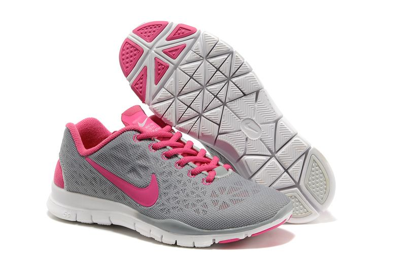 88696b1f8f Nike Free TR Fit 3 Breathe Grey Pink Women s Training Shoes ...