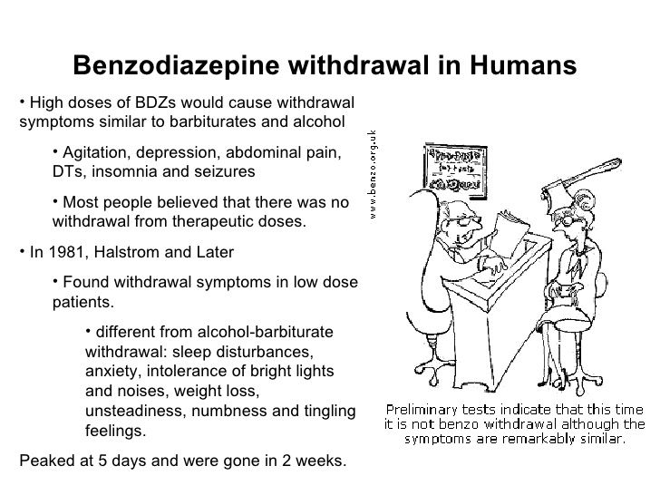 diazepam withdrawal symptoms benzodiazepines