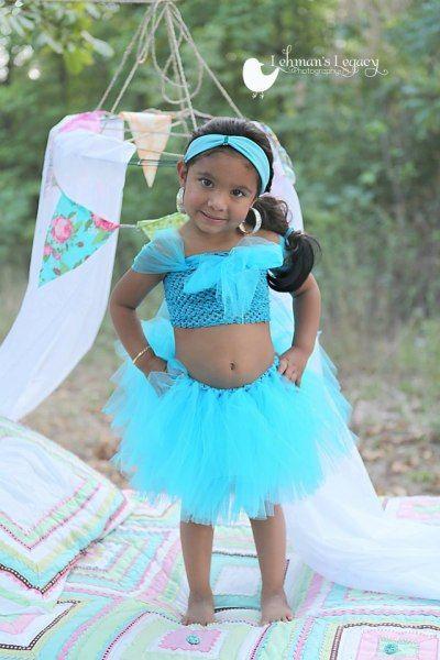 Jasmine Aladdin Tutu Dress