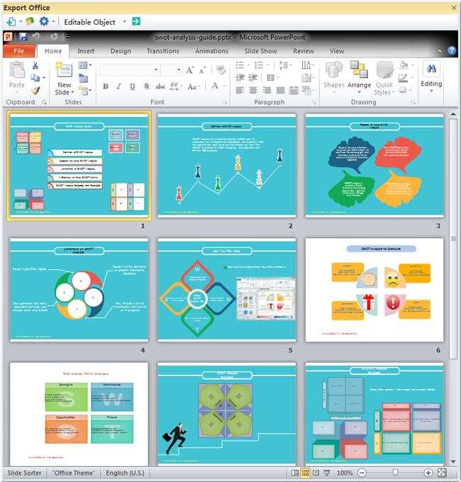 Swot Analysis Guide  Powerpoint Templates Powerpoint Examples