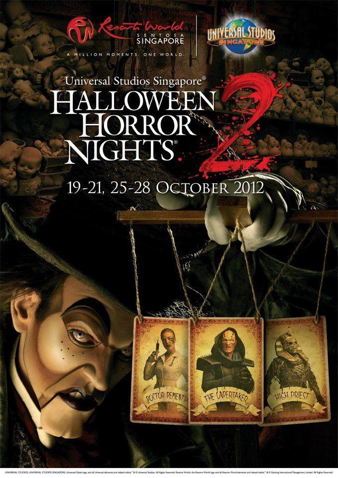 Halloween Horror Nights 2 Universal Studios Singapore