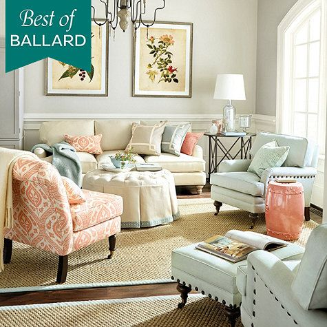 Attractive LOVE LOVE LOVE This Room By Ballard Designs! Their Garden Stools Are On  Sale For $89 U0026 Are Very Well Built!