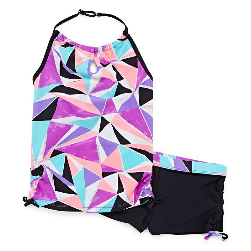 4f12b182ff Free Country Girls Tankini Set - Big Kid Swimsuit Tops, Swim Shorts, Country  Girls