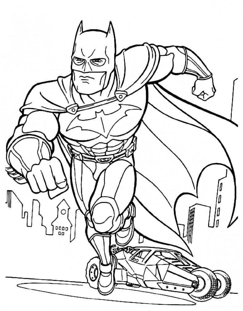 Batman Coloring Pages Fun for Kids | Batman coloring pages ...