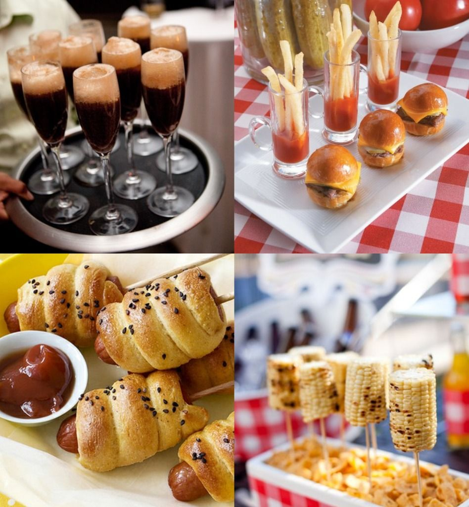 Camp Food Ideas: Summer Camp Food Appetizin' (root Beer Floats In Champagne