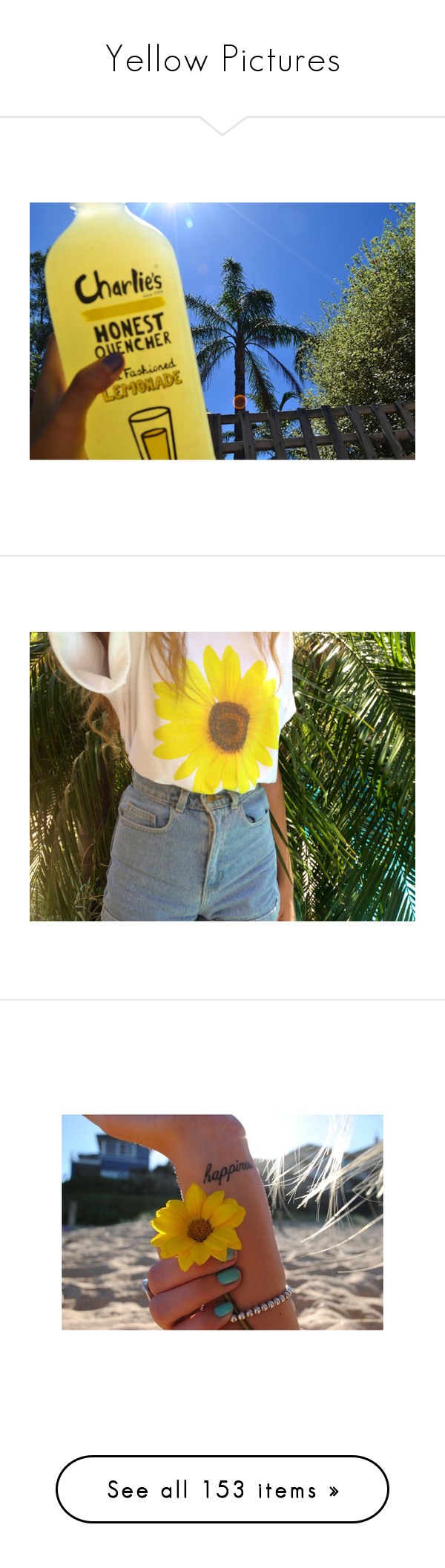 """""""Yellow Pictures"""" by bellla-zendaya ❤ liked on Polyvore featuring pictures, yellow, photos, yellow pictures, backgrounds, fillers, icons, filler, wallpaper and tattoos"""