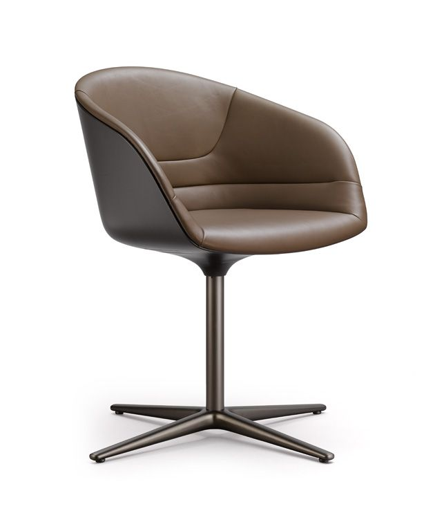 Walter Knollkyo Chair  Love This For Dining Room Chairs Cool Leather Swivel Dining Room Chairs Design Inspiration