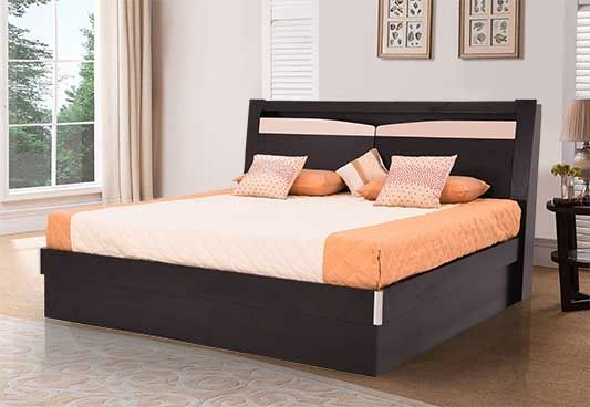 Best Royaloak Texas King Size Bed With Hydraulic Storage In 400 x 300