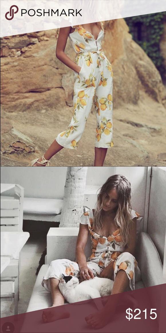 For Love And Lemons Limonada Jumpsuit My Posh Picks Pinterest