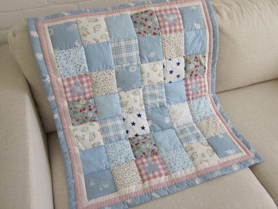Baby quilt top New Handmade