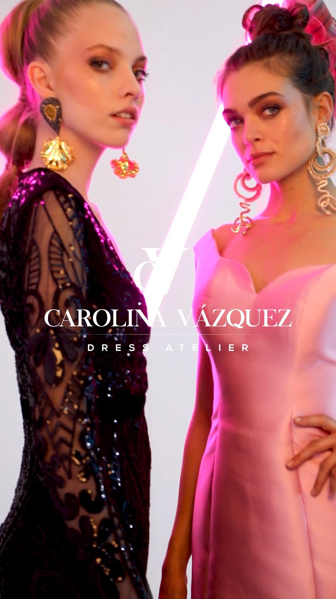 4c4f0fc98 Campaña vestidos de graduación 2019 Carolina Vázquez