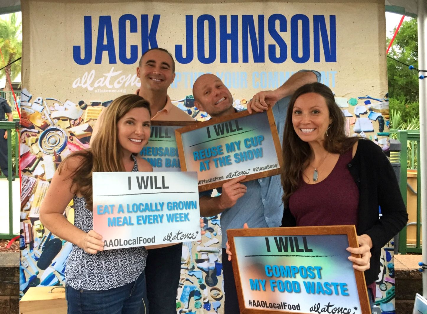 Green Spotlight Jack Johnson S All At Once Social Action