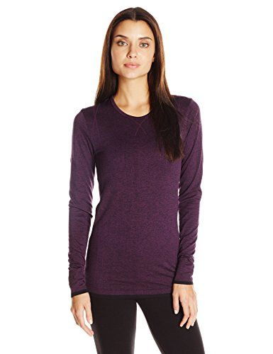 Craft Womens Active Comfort Long Sleeve Relaxed Base Layer Shirt Space XSmall >>> You can find out more details at the link of the image.