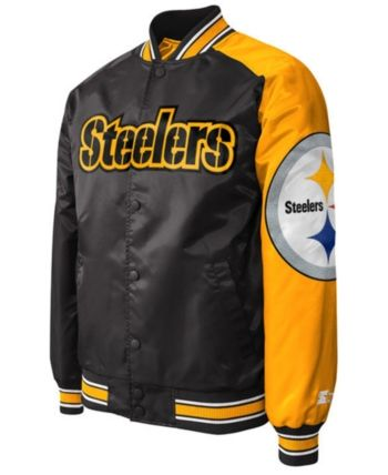 promo code d82d4 774d6 Men's Pittsburgh Steelers Starter Dugout Playoff Satin ...