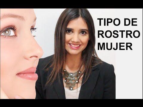 Tipos de cara Mujer - Peinados,cortes de cabello y corrección del rostro - YouTube