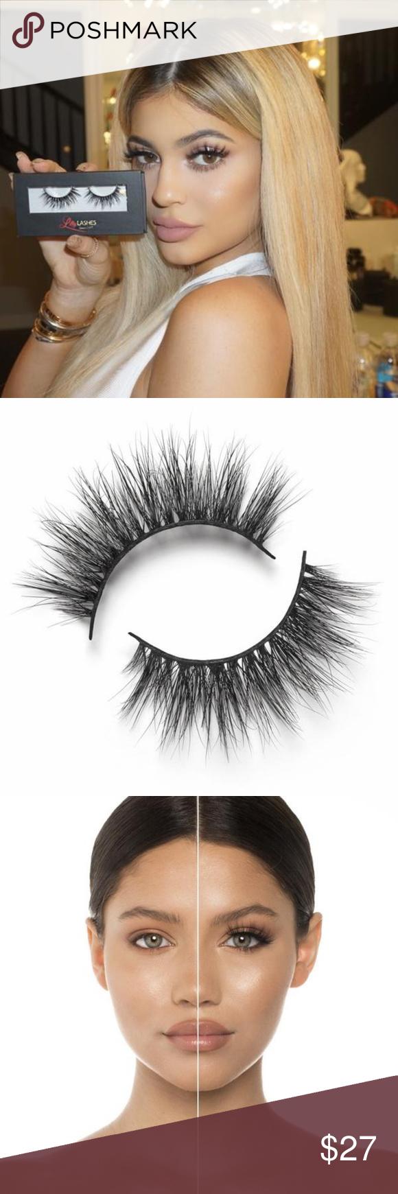 Nib Lilly Lashes By Lilly Ghalichi Miami 3d Mink Nwt Beauty