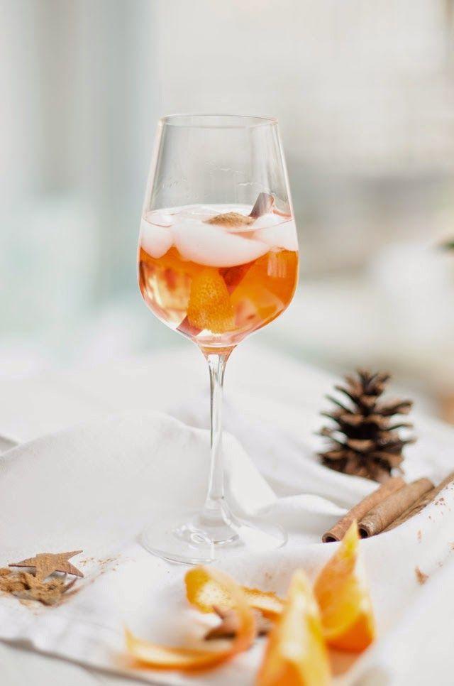 weihnachtlicher spritz adult drinks in 2018 pinterest getr nke lik r und aperitif. Black Bedroom Furniture Sets. Home Design Ideas