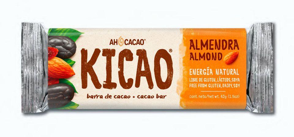 Barra de Cacao y Almendra