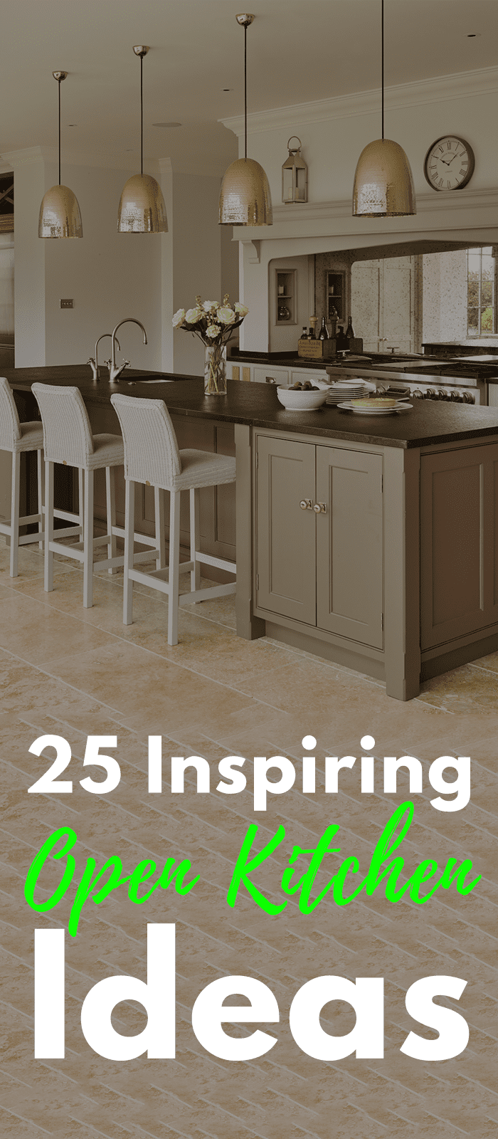 25 Inspiring Open Kitchen Ideas You Should Explore In 2020 Open Concept Kitchen Living Room Kitchen Design Open Open Kitchen